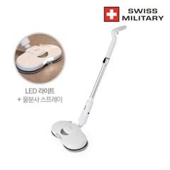 [스위스밀리터리] 오토스핀 무선 물걸레 청소기 SMA-SP22W