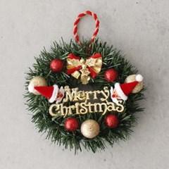 크리스마스 산타 리스 - 15cm_(2806646)