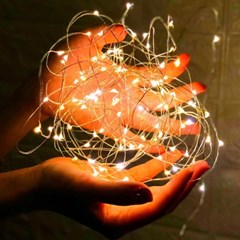 LED와이어전구무드등2M