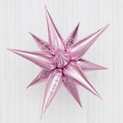 [원팩] 은박풍선 3D별 소 [핑크]_(11878942)