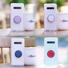 아이폰8 NuClearTok 그립톡 투명 젤리 케이스_(2417922)
