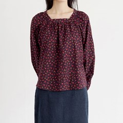 attractive floral blouse (2colors)_(1387907)