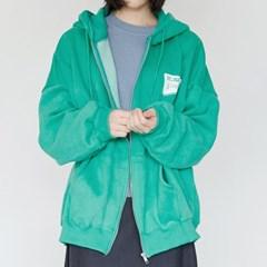 kitch detail hoodie zip-up (4colors)_(1387898)