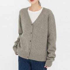 love wool v-neck cardigan_(1385381)