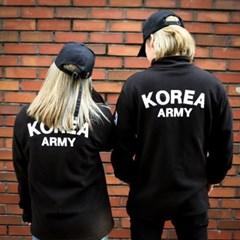 ROKA 로카 후리스 2size [군인 군대 커플 코리아아미 플리스]