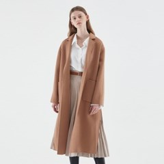 WOOL ROBE LONG COAT_BEIGE