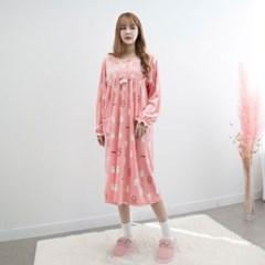 P8543 울트라 극세사 원피스 잠옷(3color)