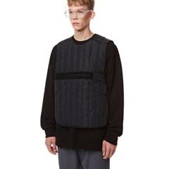 Unisex Tech Padding Vest BLACK