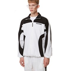 Curve training Zip-up Top WHITE