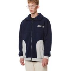 Heavy Fleece Zip-up NAVY