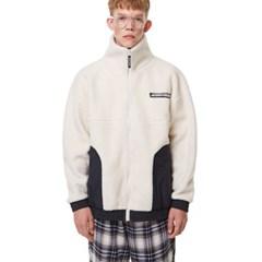 Heavy Fleece Zip-up IVORY