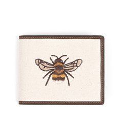 HONEYBEE WALLET (dark brown)