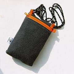 travel mini bag (grey)