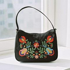 lady hobo bag (black)