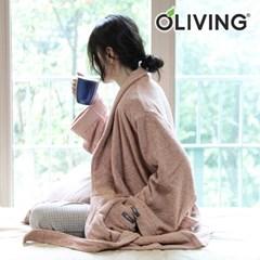 [올리빙] 뽀송 샤워 목욕 호텔 가운 성인용_(12978474)