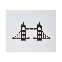 [랜드마크시리즈] 캔버스조명 타워브릿지