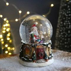크리스마스 스노우볼 오르골 워터볼 L - 산타클로스C - 막스(MARKS)