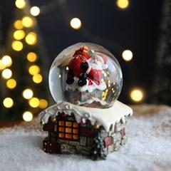 크리스마스 LED 스노우볼 워터볼 M - 산타클로스A - 막스(MARKS)