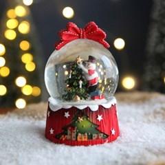 크리스마스 스노우볼 워터볼 M - 스노우맨 - 막스(MARKS)