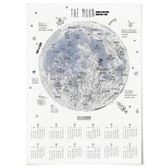 2020 패브릭 포스터 벽걸이 디자인 대형 달력 달 지도