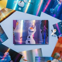 [디즈니] 겨울왕국1 홀로그램 엽서