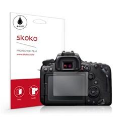 캐논 EOS 90D 올레포빅 카메라 액정보호필름 2매_(895275)