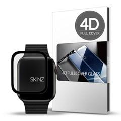 스킨즈 애플워치5 4D 풀커버 강화유리 필름 44mm 1매_(901101331)