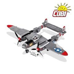 코비 COBI 미국 전투기 록히드 P-38L 라이트닝 5539_(1625165)