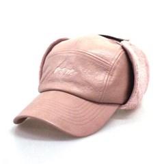 DFM BURGUNDY LEA EARFLIP CAMP-CAP
