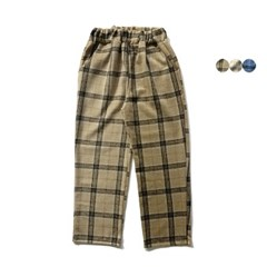 내핑 체크 와이드 팬츠 NAPPING CHECK WIDE PANTS(3color)