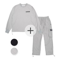 [SET] (생활방수가능)UNISEX Wearable Stopper Top&Pants set