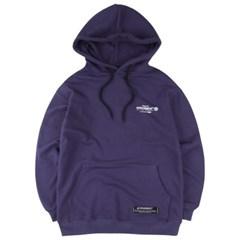 [커버먼트] [COVERMENT] Slogan Logo Print Over-Fit Hoodie_Purple