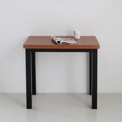[리코베로] 모던 소나무원목 식탁 테이블 800 1~2인용