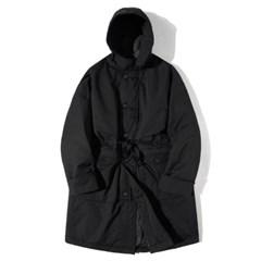 Gathering Parka Blending Coat Black