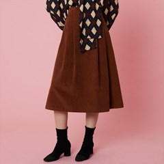 Wendy Skirt_Brown