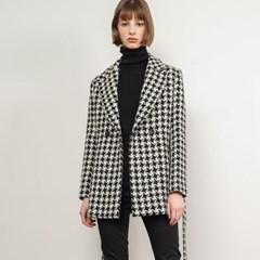 Marnie Hound Check Half Coat_(38525)