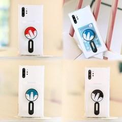 갤럭시노트8 (N950) Poner-3OsoTok 카드 젤리 케이스_(2432860)