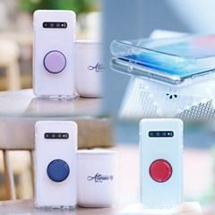 갤럭시노트9 (N960) NuDobleTok 그립톡 풀커버 젤리 케이스