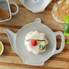 조이엘로 요술램프 접시(그레이(사이즈선택) / 엔틱 포인트 플레이팅