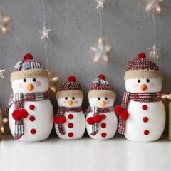 뜨개모자 큰 눈사람 25,35cm 2p set(2size)_(1796759)