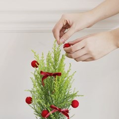 크리스마스 양모 볼 7p세트 4colors_(1270626)