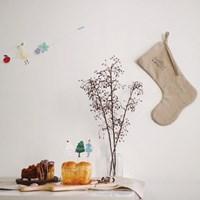 오 파티 토퍼-곰,소녀,거위그리고 크리스마스