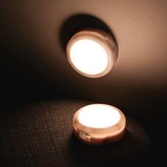 [디셈]이모티 LED 램프 퍽라이트 DLP-01