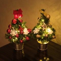 어반 미니 크리스마스 트리 세트_(1442434)