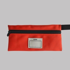 PENCIL CASE (RED ORANGE)