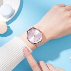 [쥴리어스] JA-1201 여성시계 손목시계 가죽밴드
