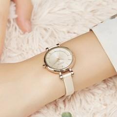 [쥴리어스] JA-1195 여성시계 손목시계 가죽밴드
