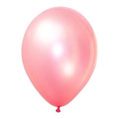 해피풍선 30Cm 라운드 펄 핑크 100입_(11884230)