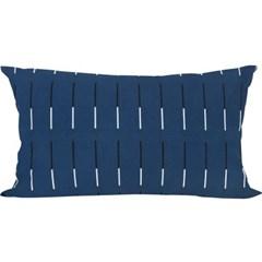 30 Plot Blue Cushion