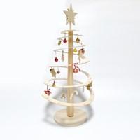 포코 자작나무 크리스마스 원목 트리 나선형